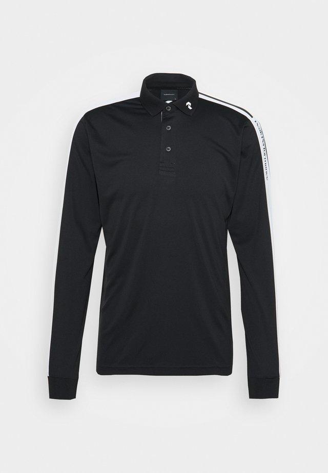 PLAYER  - Poloshirts - black/white