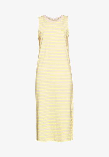 MINI MIDI DRESS - Jersey dress - lemon tonic