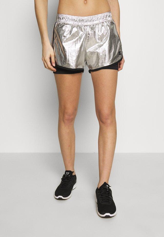 SHORTS - Short de sport - silver