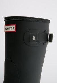 Hunter ORIGINAL - ORIGINAL SHORT VEGAN - Wellies - Wellies - black - 6