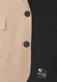 Sixth June - BICOLOR - Blazer - black/beige - 2