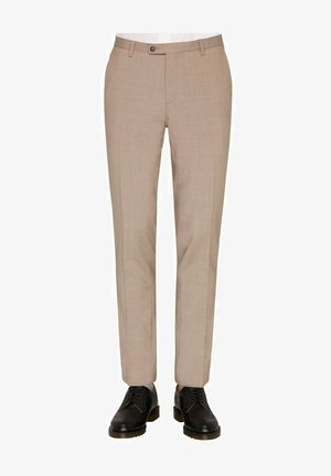 BAUKASTEN  - Suit trousers - beige mittel