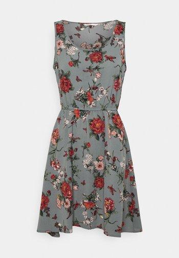 ONLNOVA SARA DRESS - Day dress - balsam green