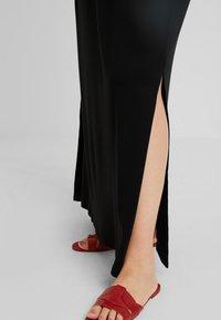 New Look Curves - TIE STRAP - Maxi dress - black - 3