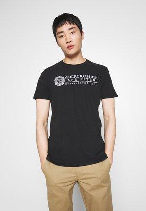 HERITAGE - Camiseta estampada - black