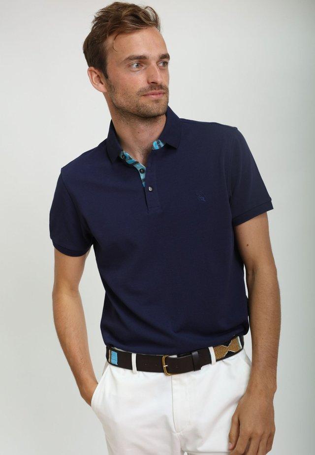 LUO - Polo shirt - navy