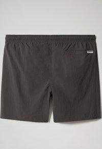 Napapijri - Swimming shorts - dark grey solid - 5