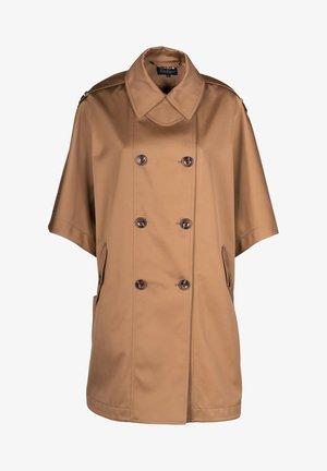 SERENA - Short coat - cammello