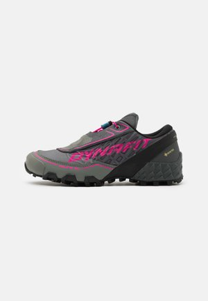 FELINE SL GTX - Trail running shoes - carbon/flamingo