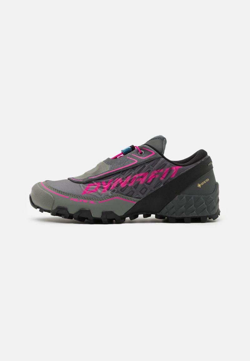 Dynafit - FELINE SL GTX - Trail running shoes - carbon/flamingo