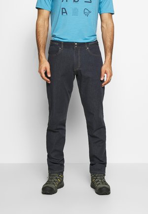 SVALBARD DENIM PANTS - Trousers - denim