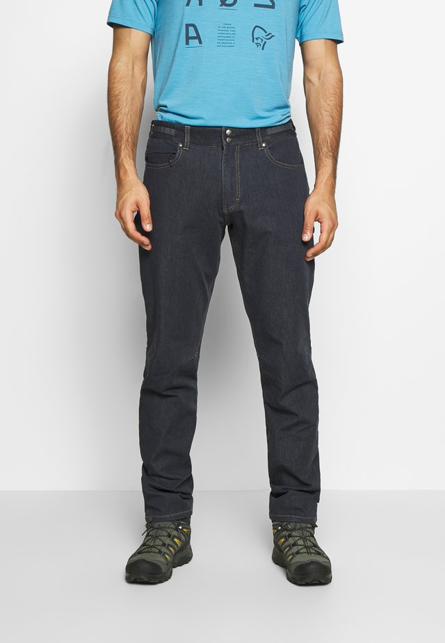 SVALBARD DENIM PANTS - Kangashousut - denim
