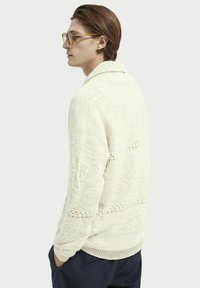 Scotch & Soda - JACQUARD  - Cardigan - sand melange - 2