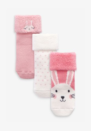 3 PACK  - Ponožky - pink