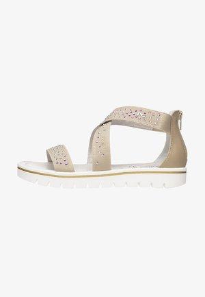 Sandals - beige