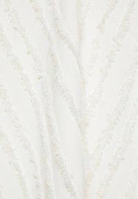 Proenza Schouler White Label - FRINGE FIL COUPE DRESS - Vapaa-ajan mekko - cream - 7