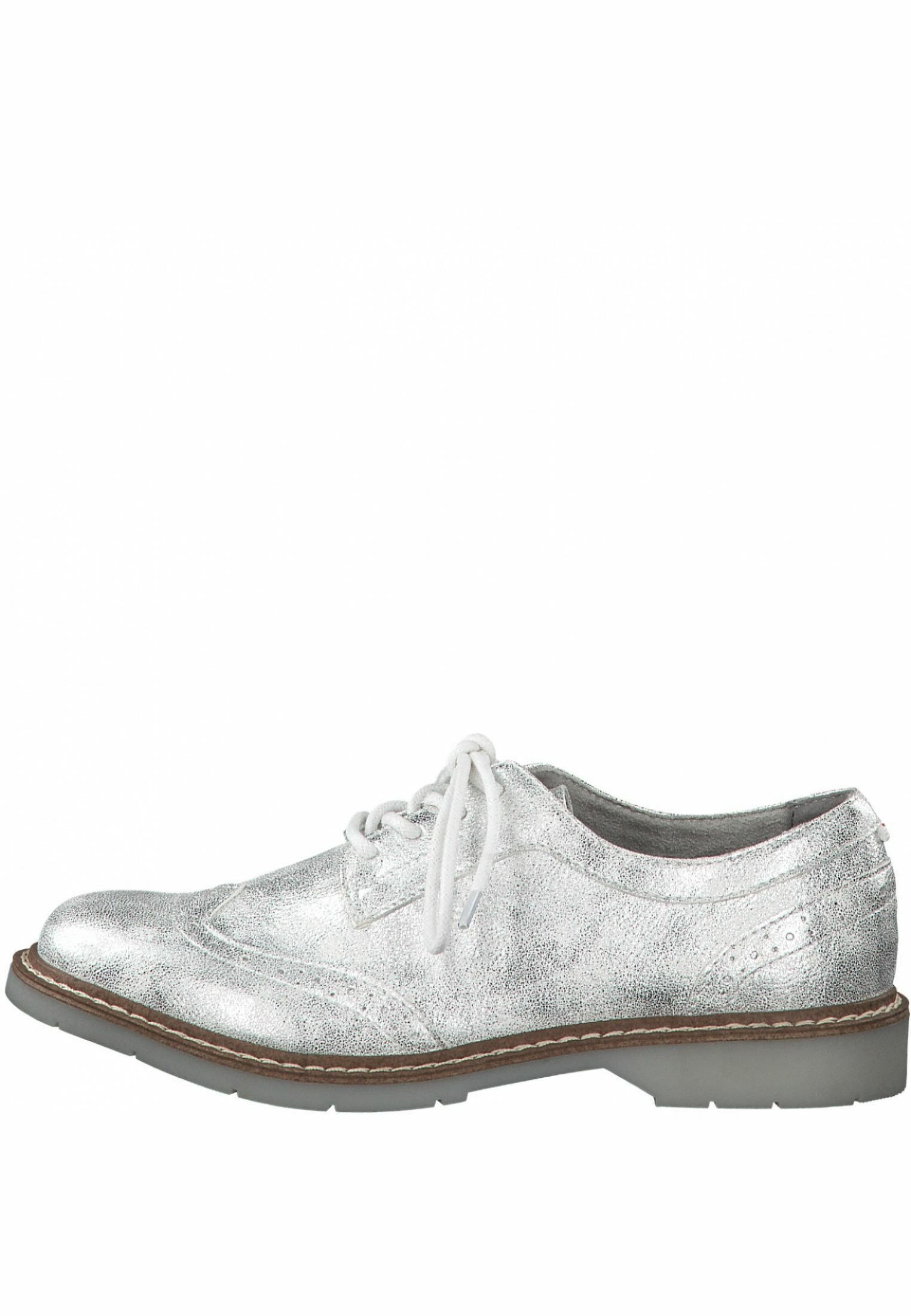 2013 Cheapest s.Oliver Lace-ups - silver | women's shoes 2020 7lJhc