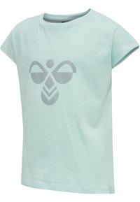 Hummel - Print T-shirt - blue tint - 1