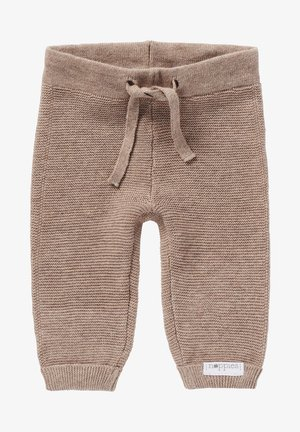 GROVER - Trousers - taupe melange