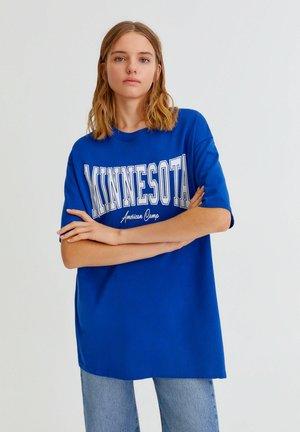 MINNESOTA - T-shirt z nadrukiem - blue