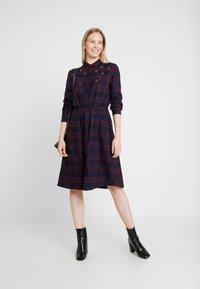 s.Oliver - Shirt dress - navy - 2