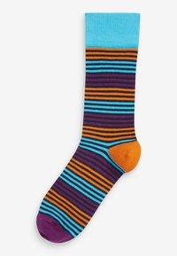 Next - Pack of: 5  - Socks - blue - 1