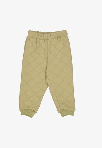 ALEX - Trousers - slate green