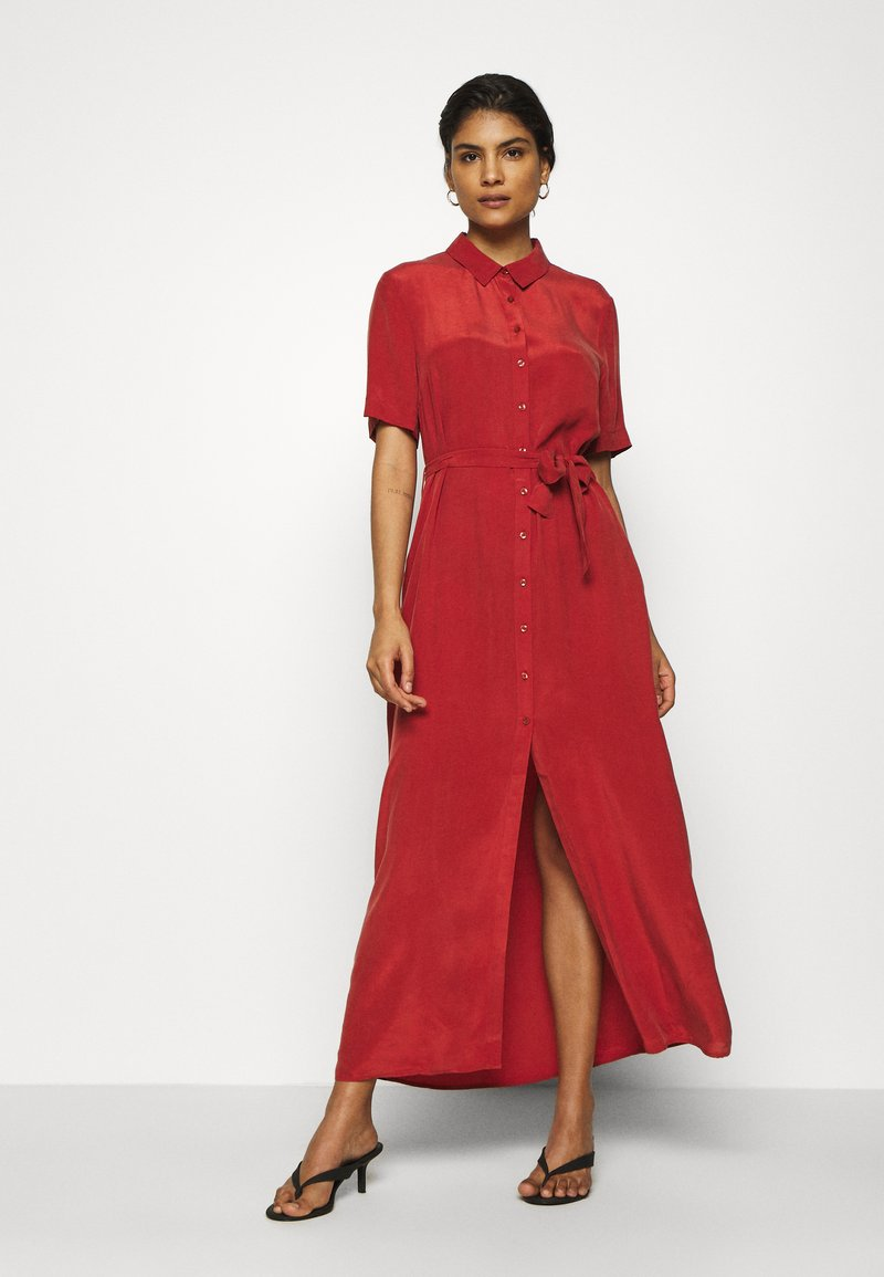 Denham - ROXANNE DRESS - Maxi dress - red ochre