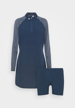 LONG SLEEVE DRESS - Sports dress - crew navy