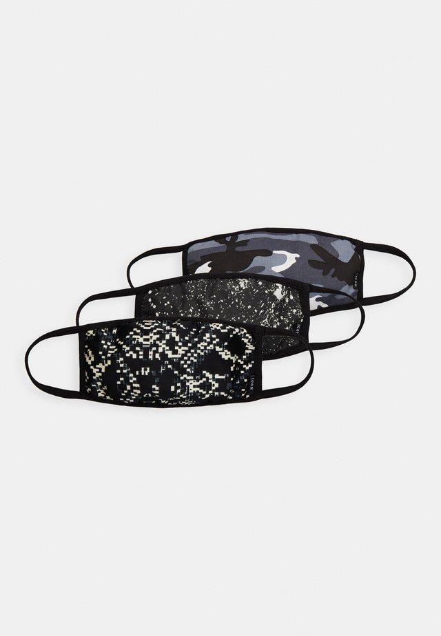 COMMUNITY MASK 3 PACK - Masque en tissu - black