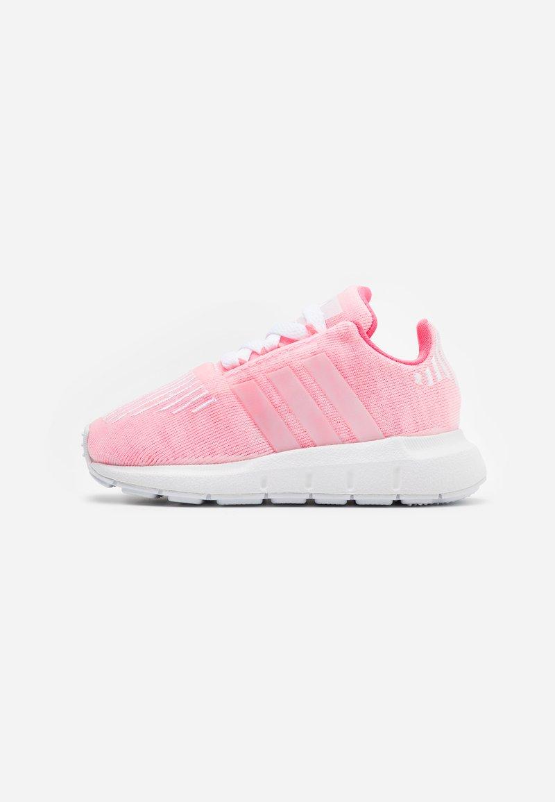 adidas Originals - SWIFT RUN  - Trainers - shock red/footwear white
