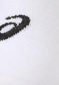 ASICS - QUARTER 3 PACK - Calcetines tobilleros - white - 1