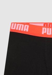 Puma - KIDS CAMO BOXER 2 PACK - Pants - black/white - 3