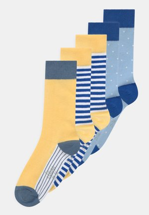 ONLINE JUNIOR PATTERNED 5 PACK - Socks - solar power