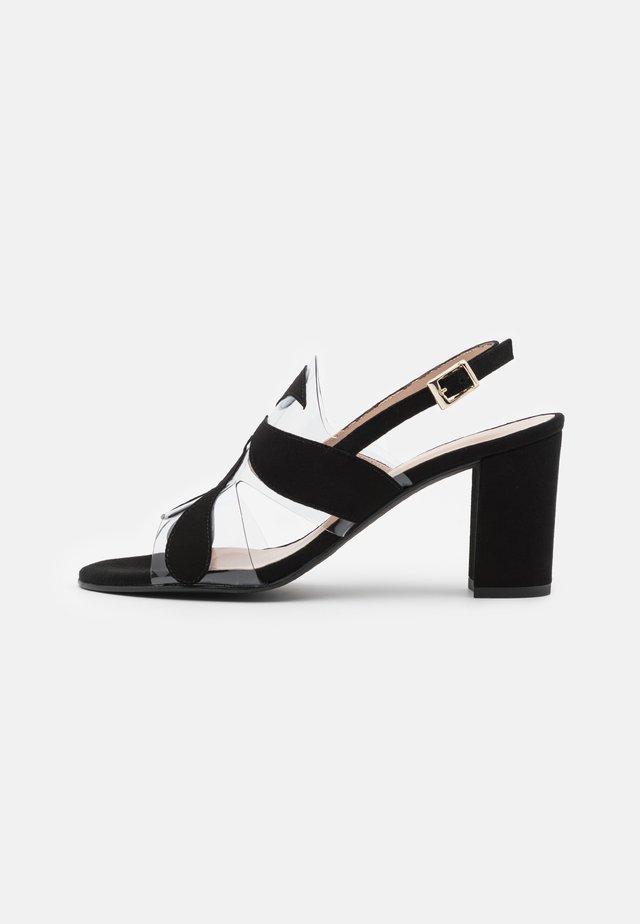 PORTU - Sandaler - black