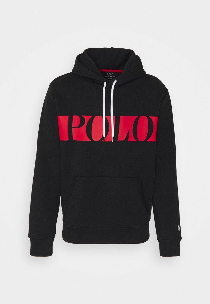 Polo Ralph Lauren - DOUBLE TECH - Sweatshirt - polo black