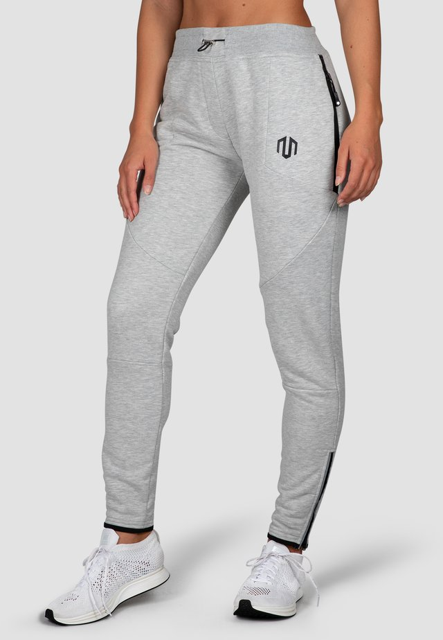 COMFY PERFORMANCE  - Tracksuit bottoms - hellgrau