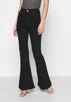 VINTAGE FLARE - Flared Jeans - black