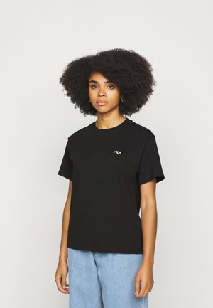EARA TEE - T-shirts - black