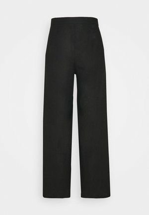 SIBYL PANTS - Trousers - plain black