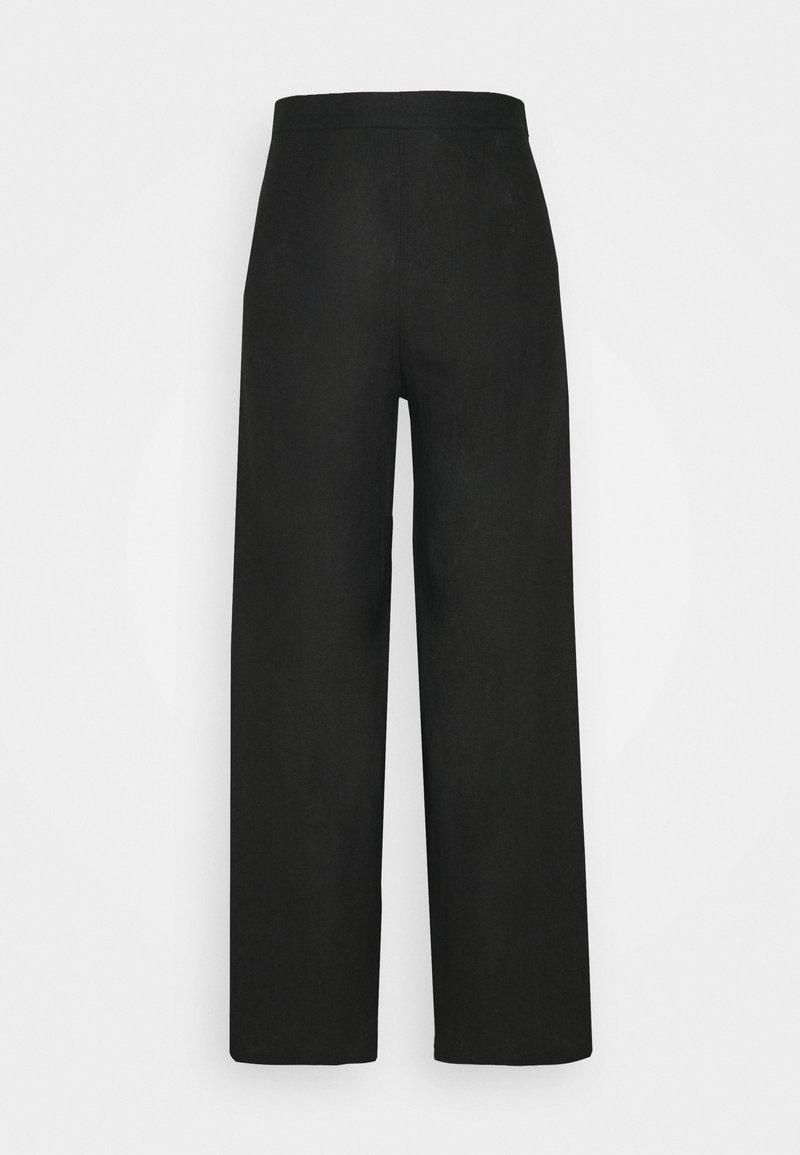 Faithfull the brand - SIBYL PANTS - Kalhoty - plain black