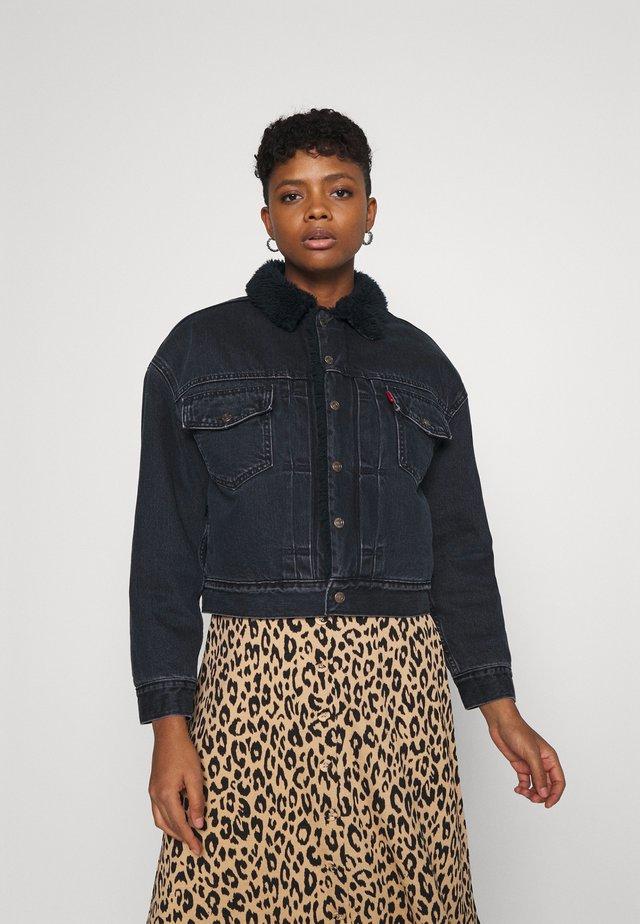 NEW HERITAGE  - Denim jacket - deep dark