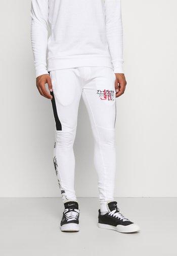 FIRE - Pantaloni sportivi - white