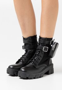 RAID - TYLIN - Bottines à lacets - black - 0