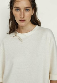 Massimo Dutti - Long sleeved top - white - 2