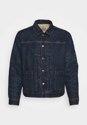TYPE SHERPA TRUCKER UNISEX - Denim jacket - blue denim
