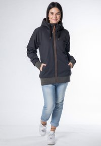 alife & kickin - JOHANNA  - Light jacket - black - 1