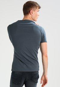 G-Star - BASE 2 PACK  - Basic T-shirt - dark slate - 3