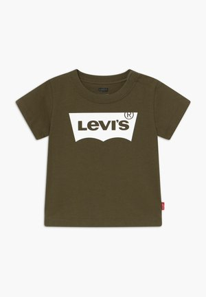 BATWING TEE - Print T-shirt - olive night