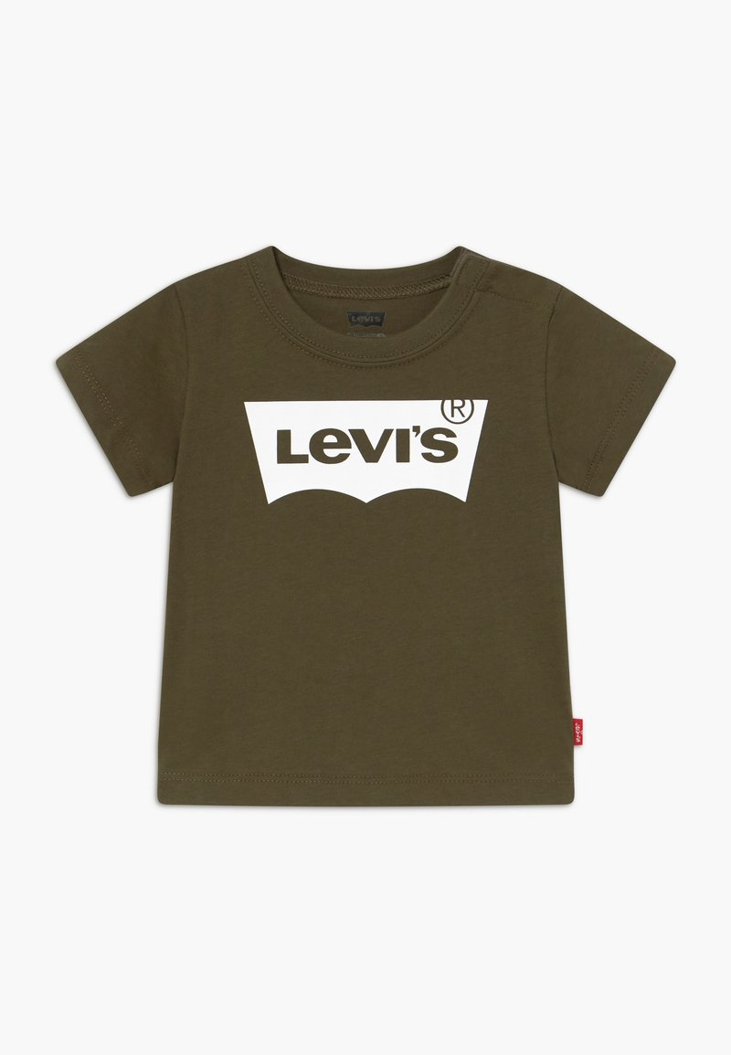 Levi's® - BATWING TEE - Camiseta estampada - olive night